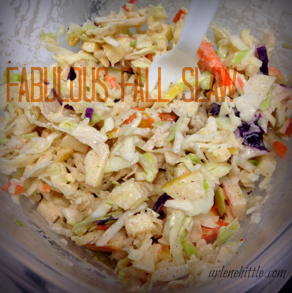 Fabulous Fall Slaw | Arlene Hittle/Chicklets in the Kitchen