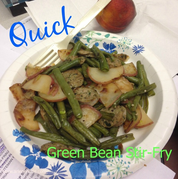 Green Bean Stir Fry | Chicklets in the Kitchen
