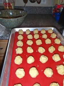Cookie Dough, ready to bake