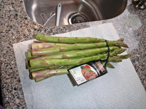 Bunch Asparagus by Connie Cockrell